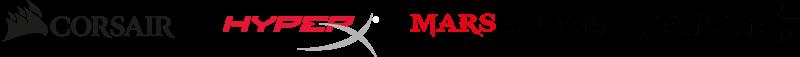 logos de las mejores empresas de cascos gaming inalambricos