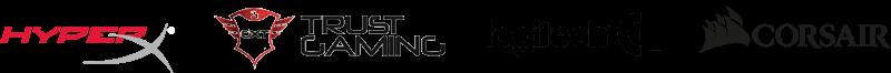logos de las mejores empresas de cascos gaming xbox one