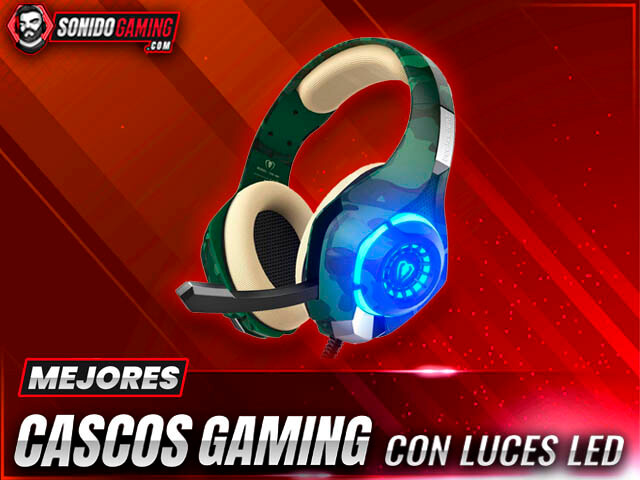 mejores cascos gaming con luces LED