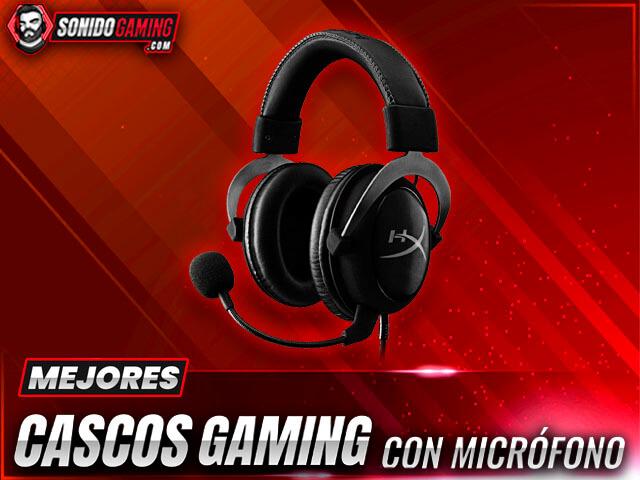 mejores cascos gaming con microfono