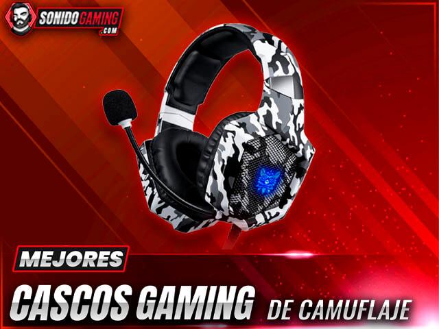 Mejores Cascos Gaming Camuflaje