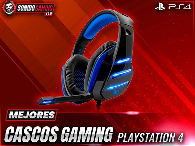 mejores cascos gaming para playstation 4