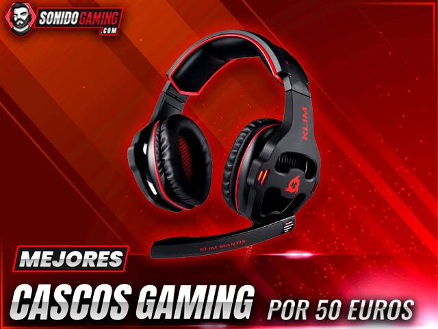 mejores cascos gaming por 50 euros