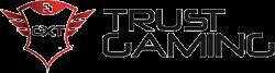 logo de la marca de cascos gaming Trust