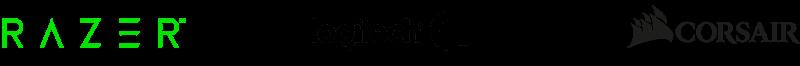 logos de las mejores empresas de cascos gaming 7.1