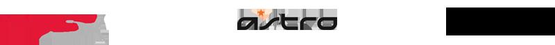 logos de las mejores empresas de cascos gaming de youtubers