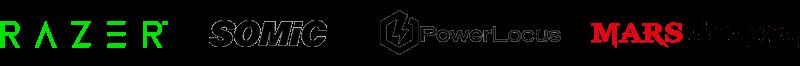 logos de las mejores empresas de cascos gaming con orejas de gato